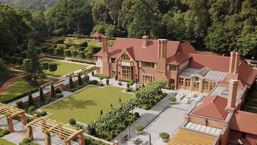 New Country House Design England