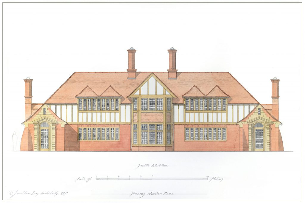 New Arts and Crafts House Design