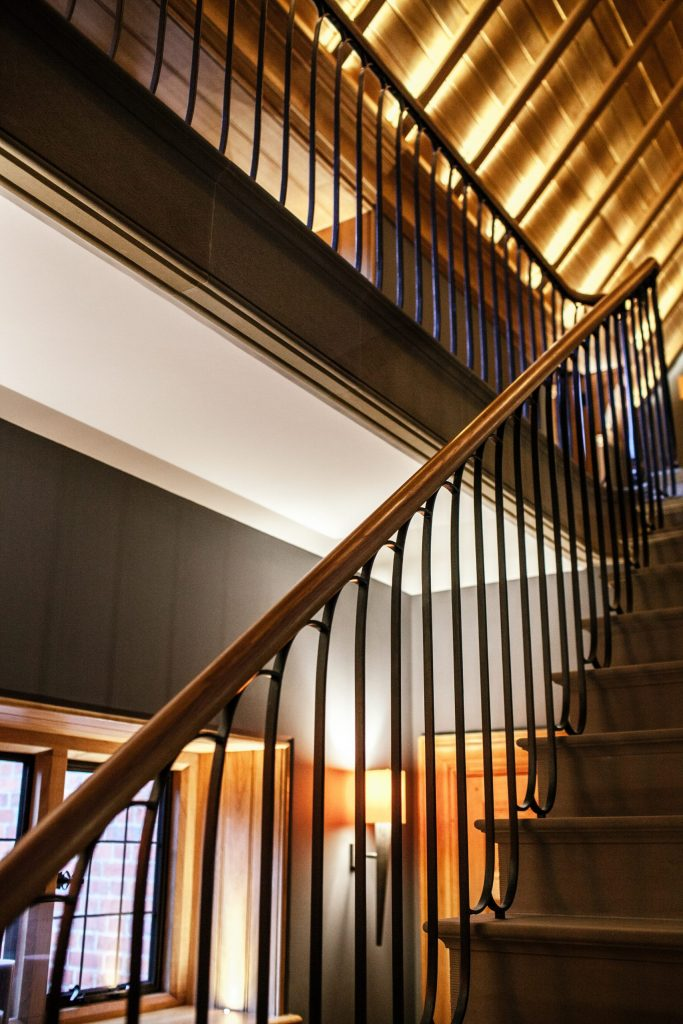 Bespoke new traditional staircase