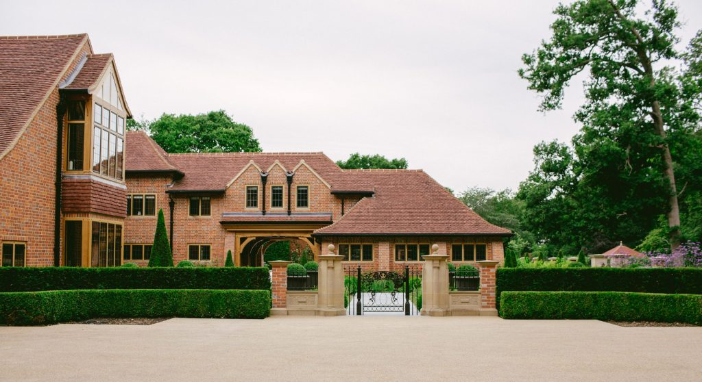 Wing of Arts and Crafts country house