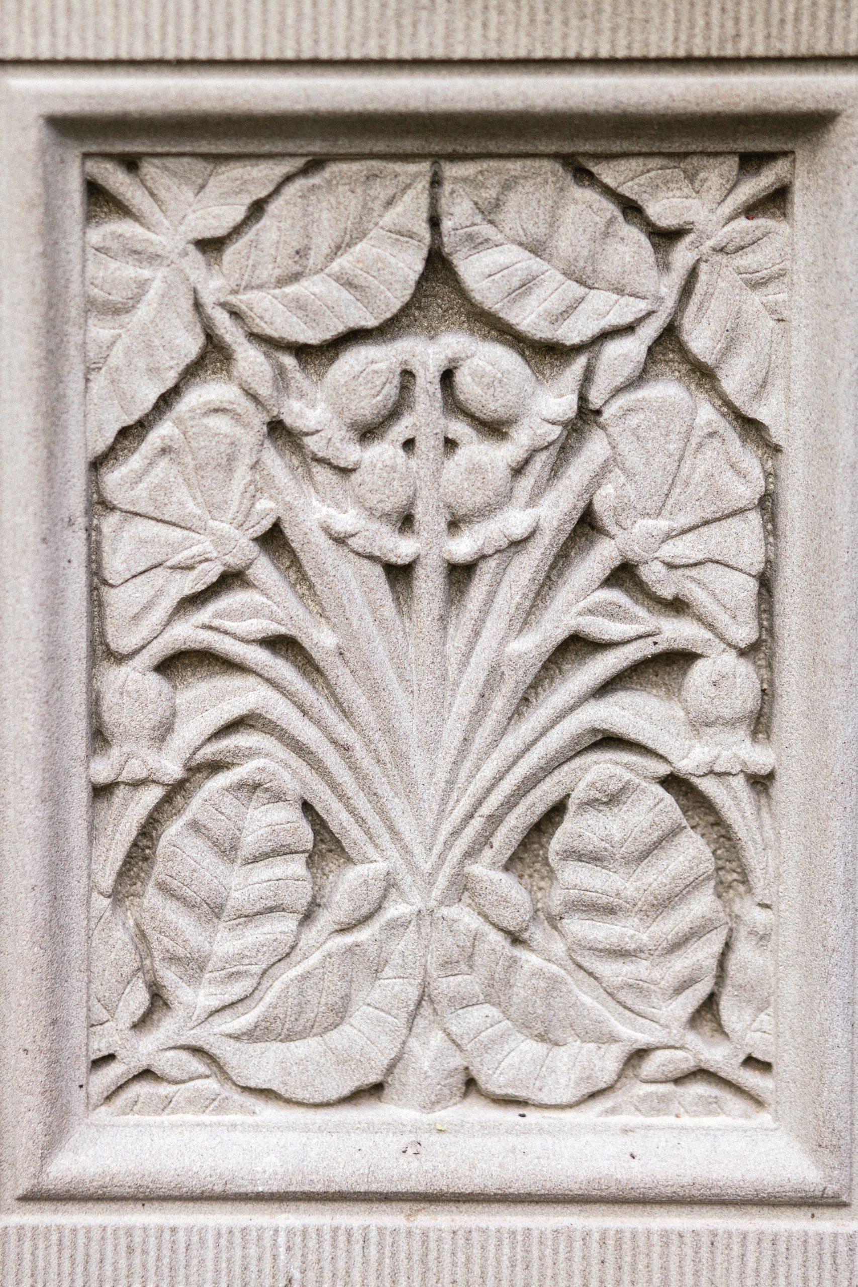 Award winning stone carving craftsmanship
