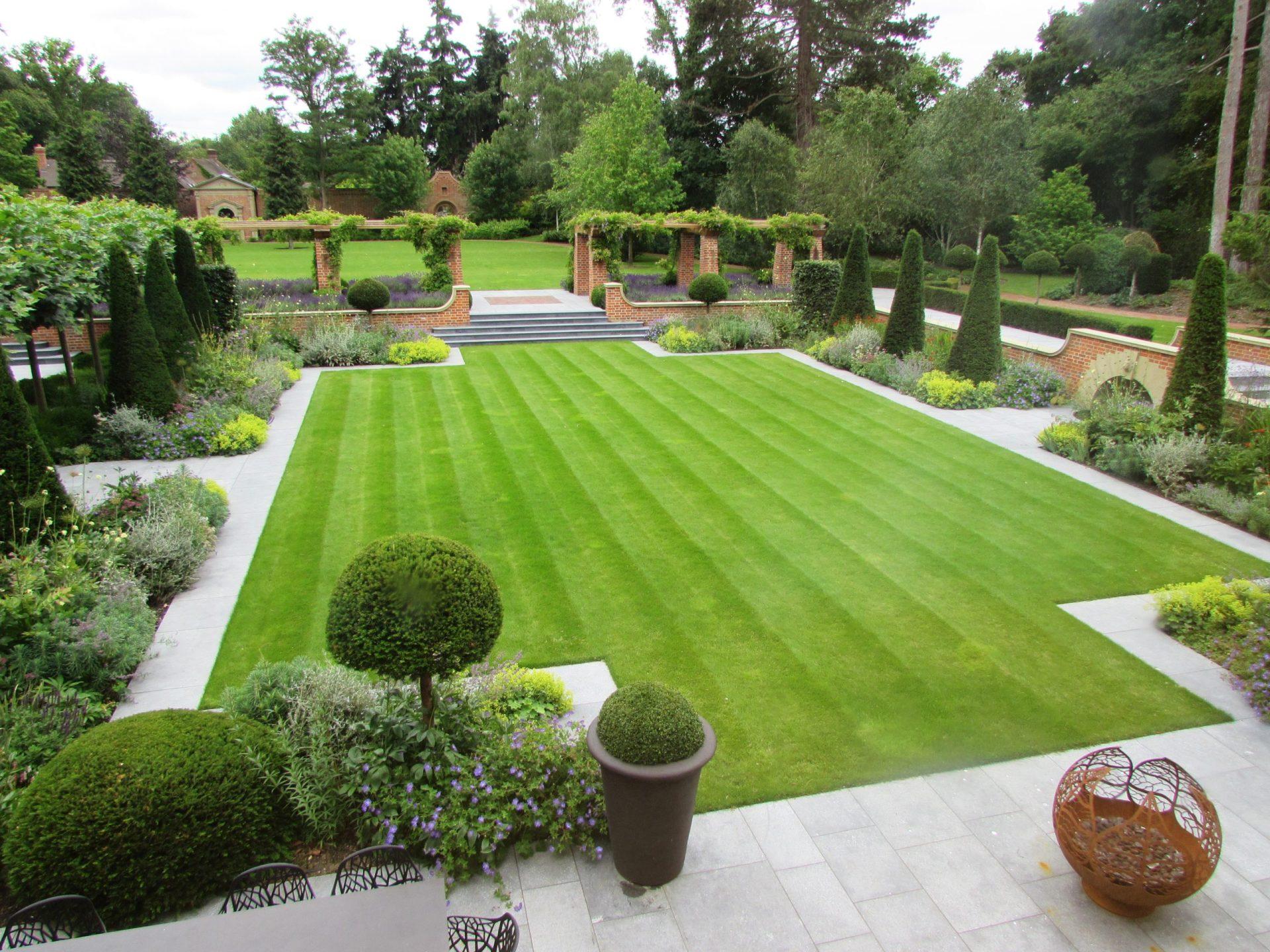 Arts and Crafts garden design