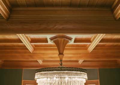 Oak Ceiling Witches Hat