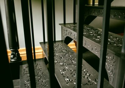 Steel Gym Staircase