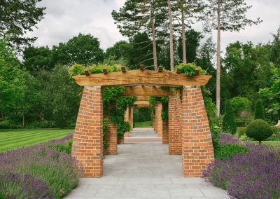 Arts and Crafts Garden Loggia