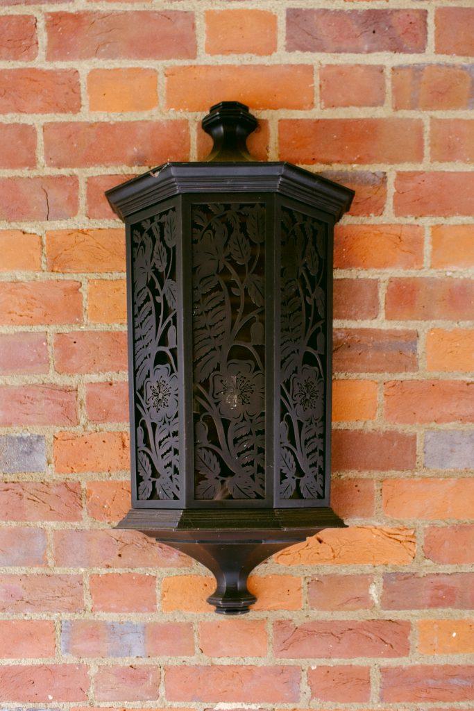 Garden Arts and Crafts wall light