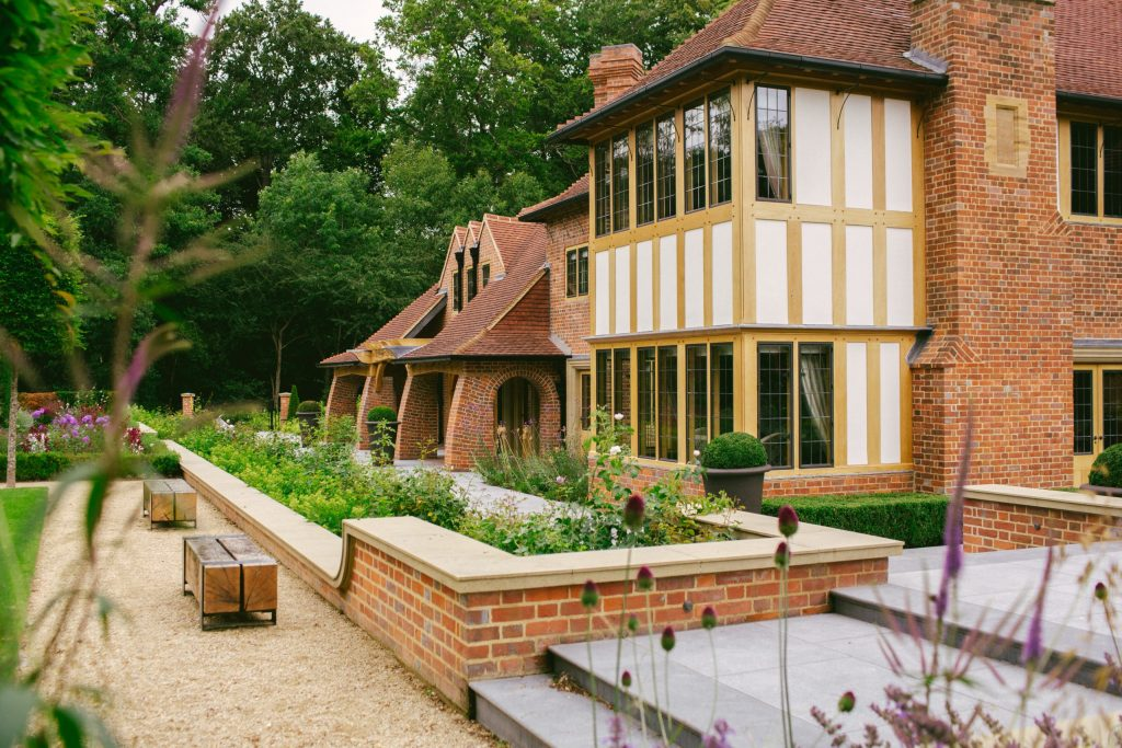 Arts and Crafts country house in England