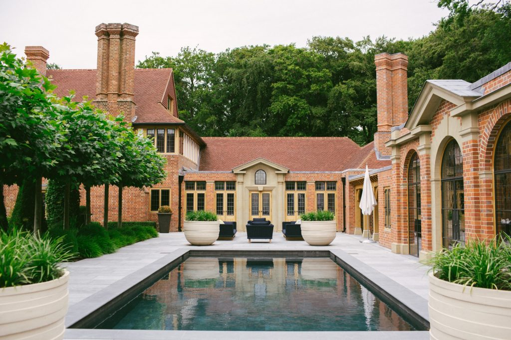 Pool House and Orangery