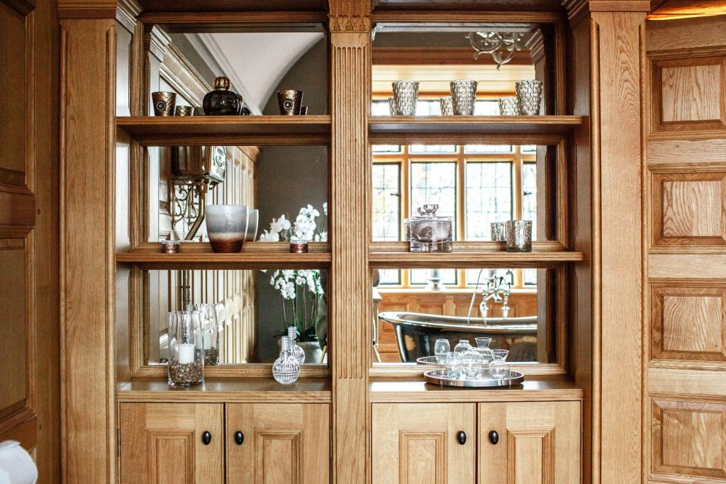 Country house bathroom cabinet
