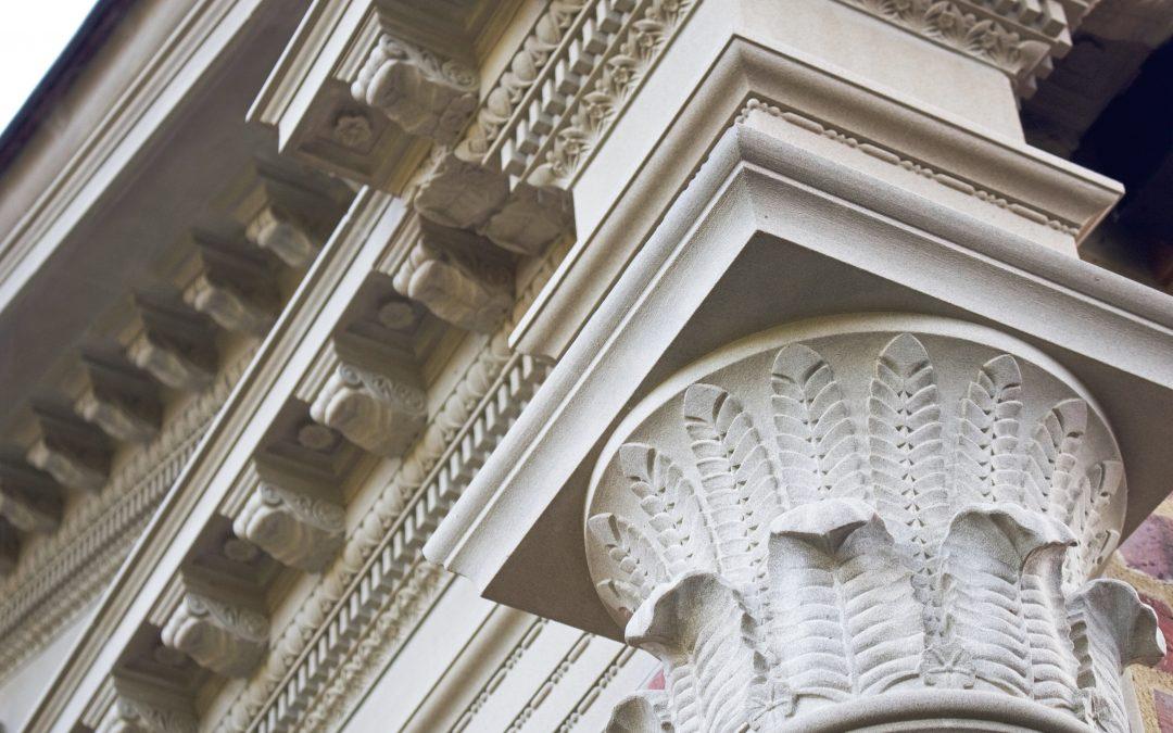 Carved Stone Column Capital