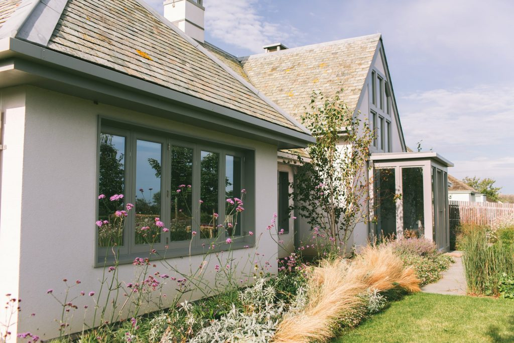Classical Architect designed house in Cornwall