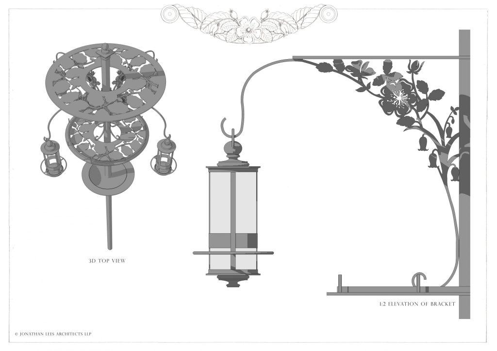 Bespoke metal decorative bird feeder