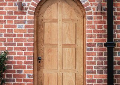Oak Garden Doors