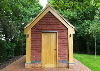 Arts and Crafts Potting Shed