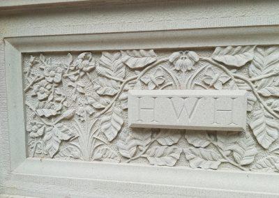 Stone Entrance Gate Plaques