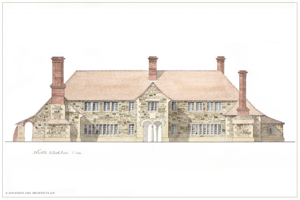 Arts and Crafts Country House Architect
